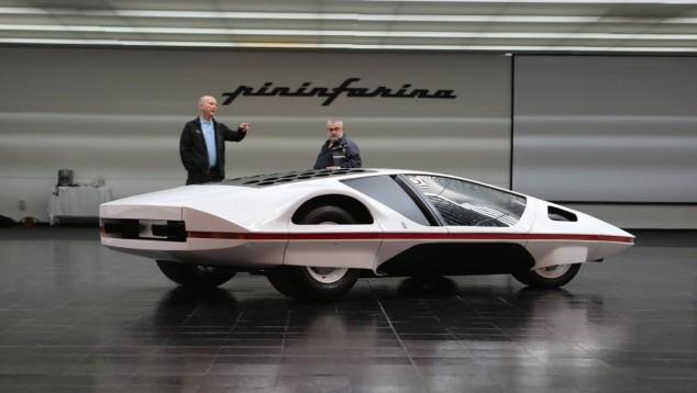 El Pininfarina Modulo salió del museo a manos de su nuevo propietario en 2014 - SoyMotor.com