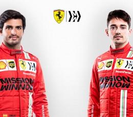 FOTOS: la presentación del equipo de Ferrari 2021, en imágenes - SoyMotor.com