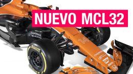 McLaren MCL32, la naranja mecánica de Alonso y Vandoorne