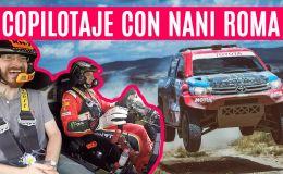 Nani Roma nos pone firmes en su Toyota Hilux T1 Dakar (con entrevista)