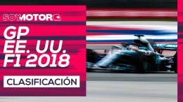 GP de Estados Unidos F1 2018 – Directo clasificación