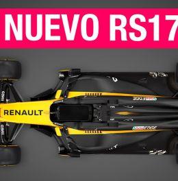 Renault RS17, más agresivo que nunca