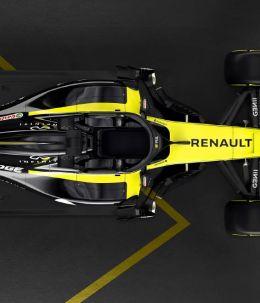 Renault RS18, el nuevo coche de Carlos Sainz