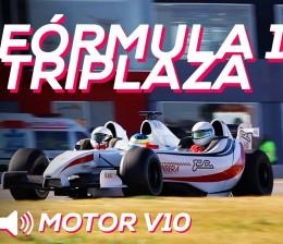 A bordo de un Fórmula 1 triplaza | SoyMotor.com