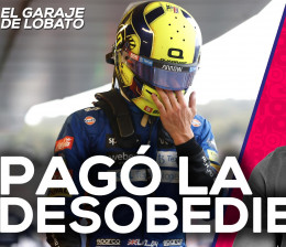 Norris se negó a entrar... y le salió mal - El Garaje de Lobato | SoyMotor.com