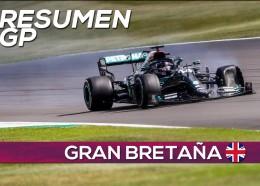 Hamilton gana a tres ruedas en medio de los pinchazos | Resumen GP Gran Bretaña F1 2020 - SoyMotor