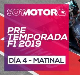 F1 2019 Test Barcelona, día 4 - directo matinal