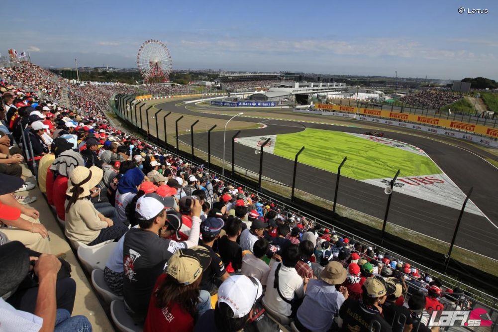 Circuito Japon : El mundial de fórmula viaja a japón guía del circuito de suzuka