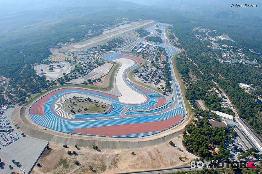 F1: Hamilton y Bottas dominan 1ra práctica del GP de Francia