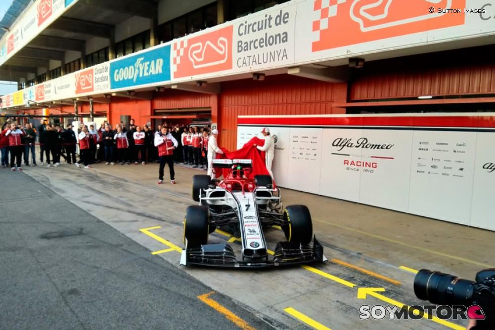 Alfa Romeo presenta monoplaza F1