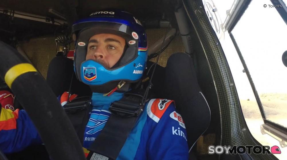 Alonso aprende a una velocidad impresionante, tiene un talento enorme