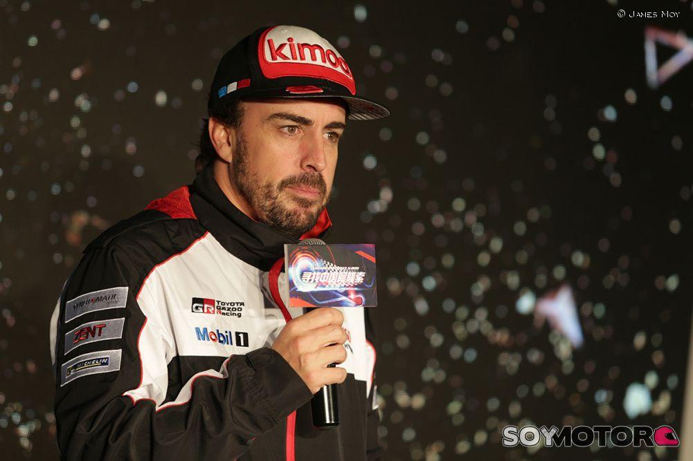 Alonso saldrá segundo en las Seis Horas de Shanghái