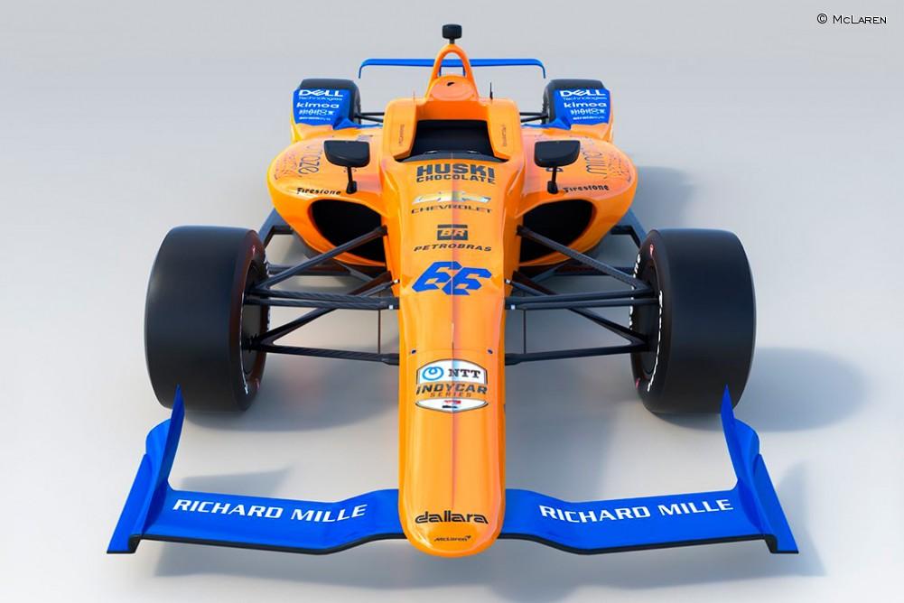 McLaren presenta el nuevo 'juguete' de Fernando Alonso