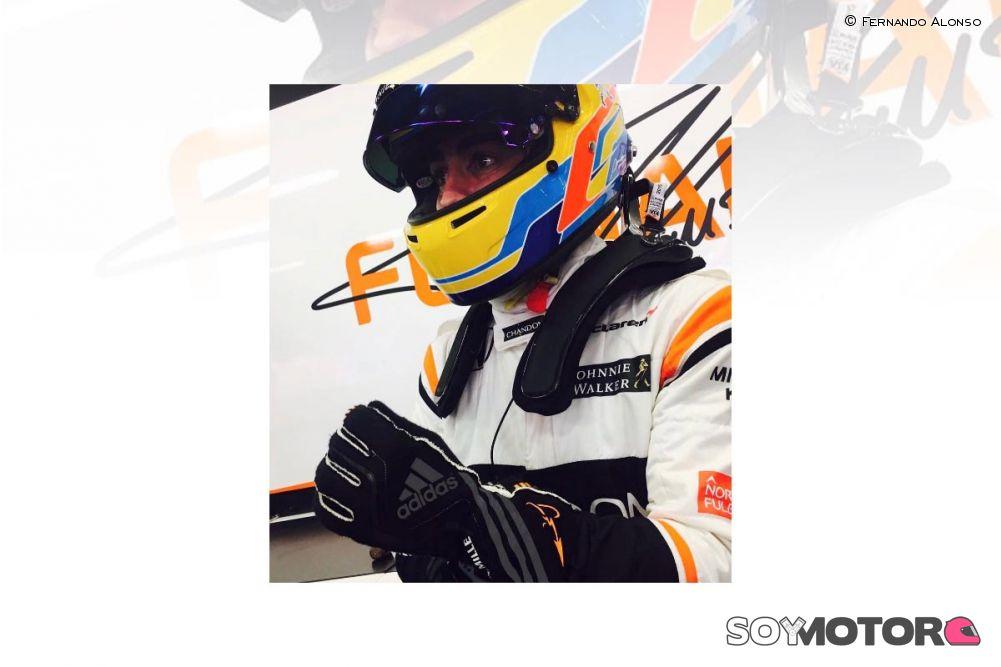 En la cabeza de Ya que Alinear  Adidas, nuevo patrocinador personal de Fernando Alonso | SoyMotor.com