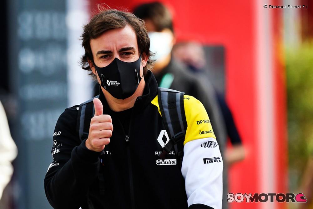 Alonso volverá a probar el Renault RS18 este mes en Abu Dabi