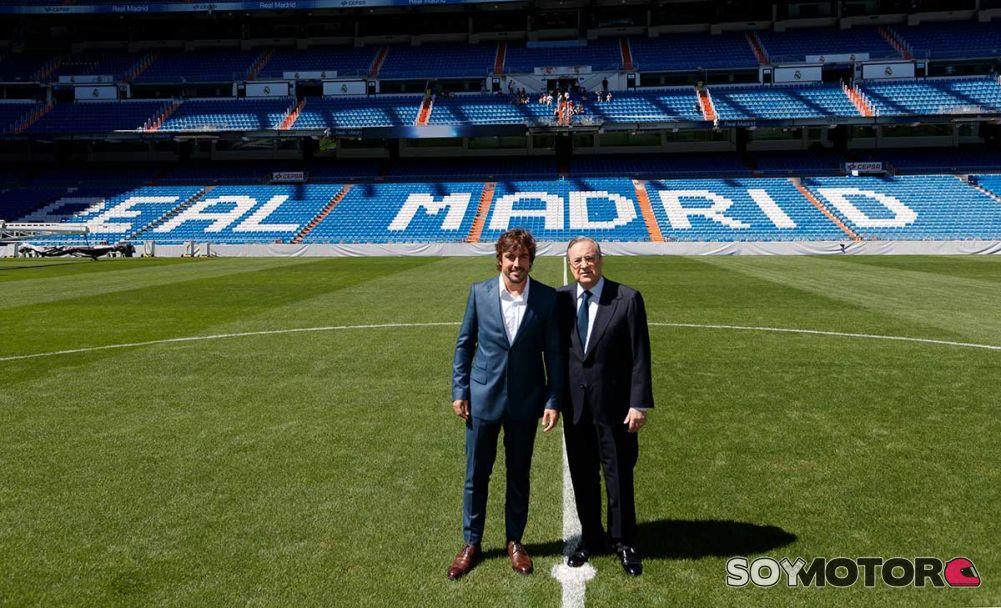 ¿Cuánto mide Florentino Pérez? - Altura - Real height Alonso-socio-honor-madrid-2-f1-soymotor