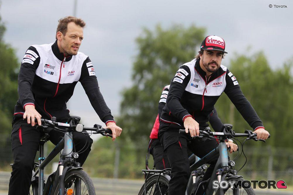 Alonso, mejor tiempo en los ensayos libres de Le Mans