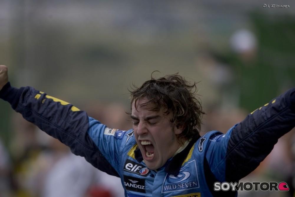 Fernando Alonso, 'joven' otra vez por un día