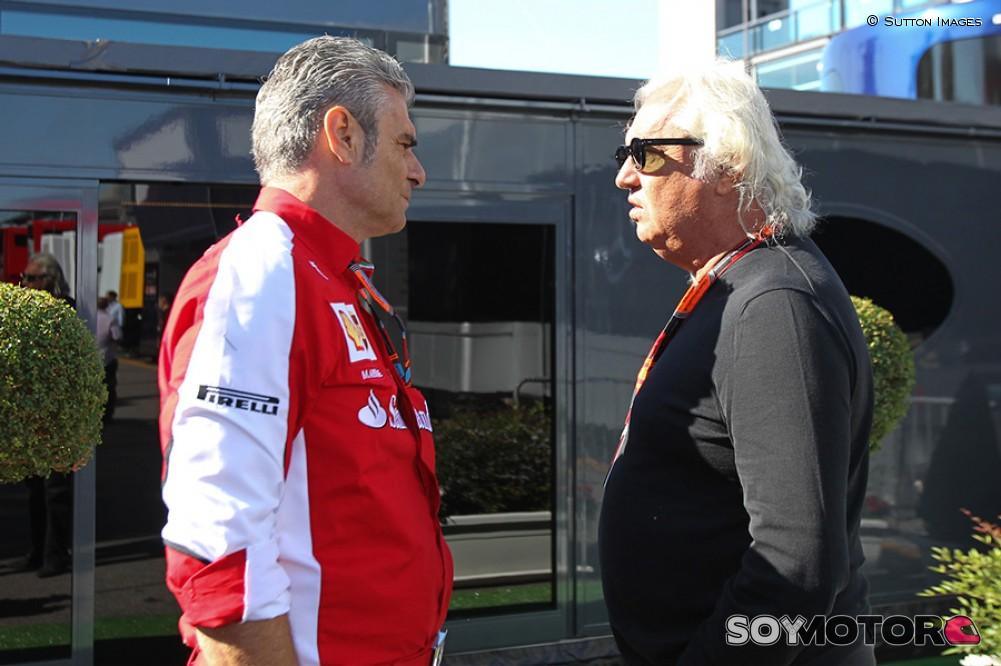 Binotto sustituye al frente de la escuderia a Arrivabene — Cambio en Ferrari