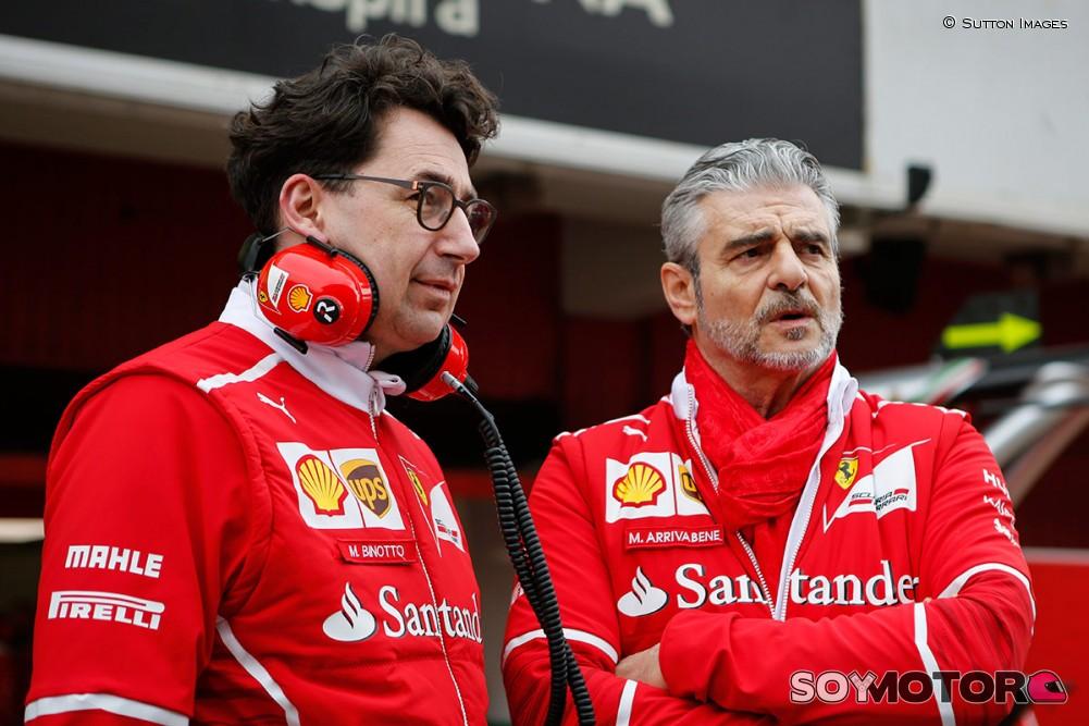 Ferrari corre a su director, Maurizio Arrivabene