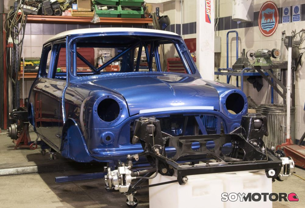 El mini cl sico renace bmh ofrece carrocer as nuevas para - Mini clasico para restaurar ...