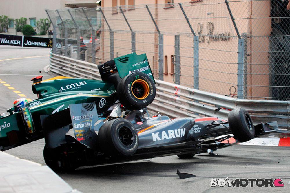 Sergio Pérez tuvo regular desempeño en prácticas del GP de Mónaco