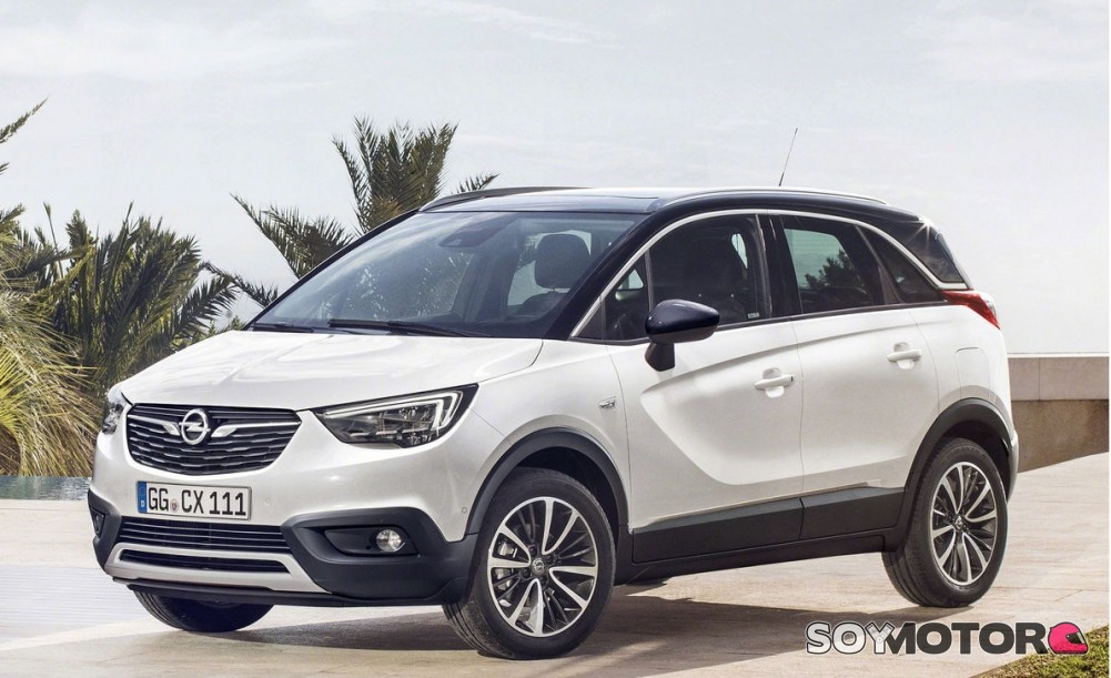 opel crossland x 2017 el sustituto del meriva ya tiene precios. Black Bedroom Furniture Sets. Home Design Ideas