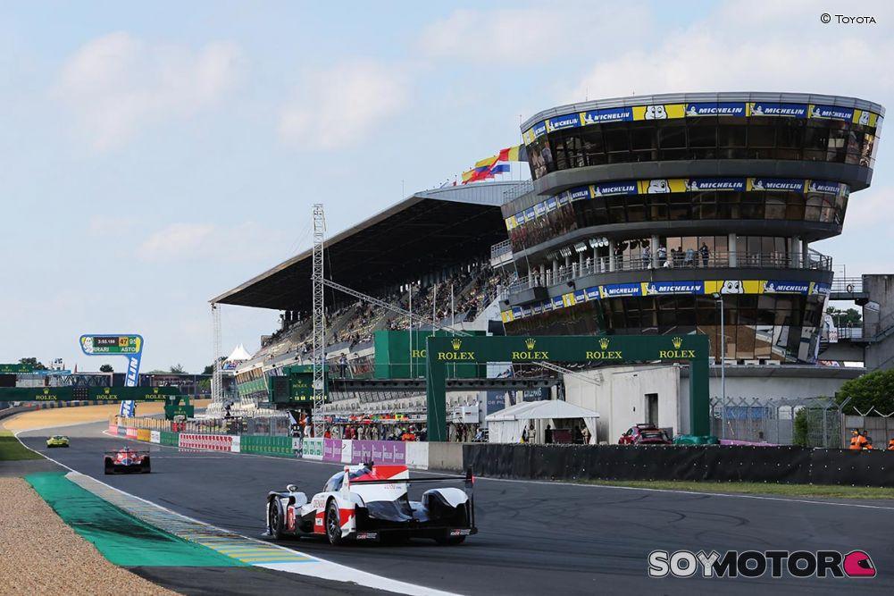 Histórico segundo puesto de Pechito en Le Mans