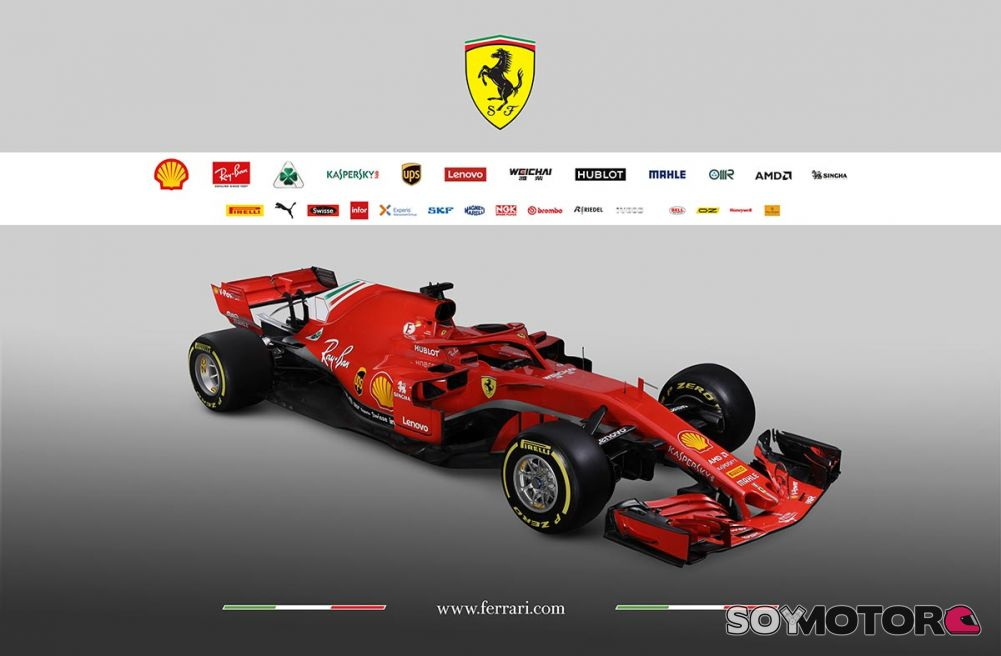 ferrari presenta el sf71h su coche para la temporada 2018. Black Bedroom Furniture Sets. Home Design Ideas