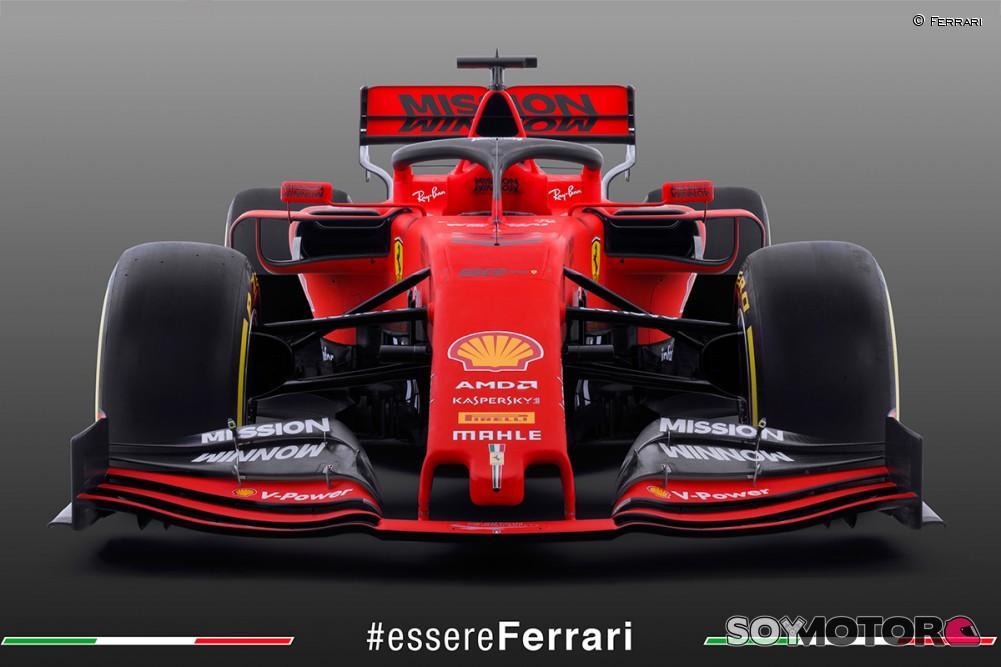 Ferrari presentó el nuevo monoplaza de Vettel y Leclerc