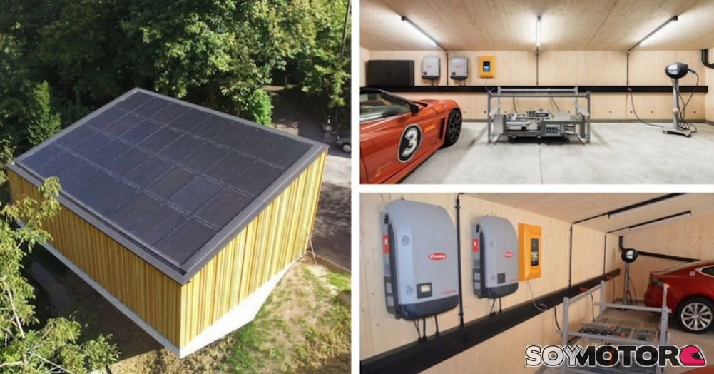 Sun2wheel un garaje solar para coches el ctricos - Garaje para coches ...