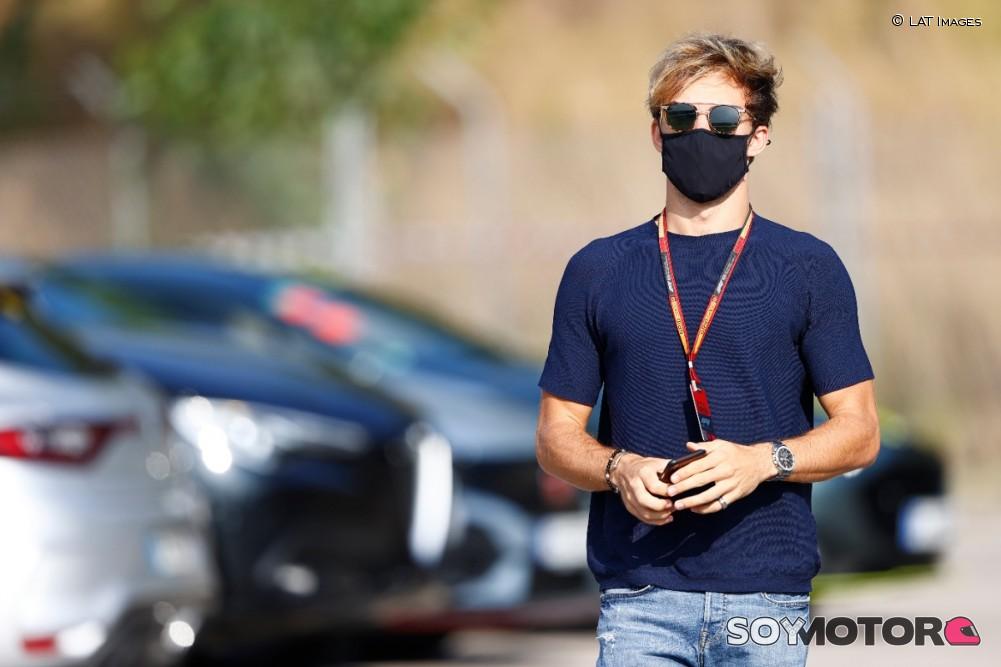 Roban al piloto francés Pierre Gasly, noveno en el GP de España
