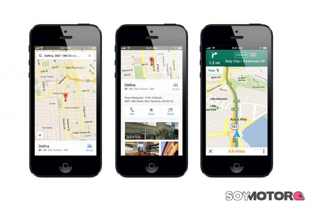 Ya no puedes reservar un Uber desde la app — Google Maps