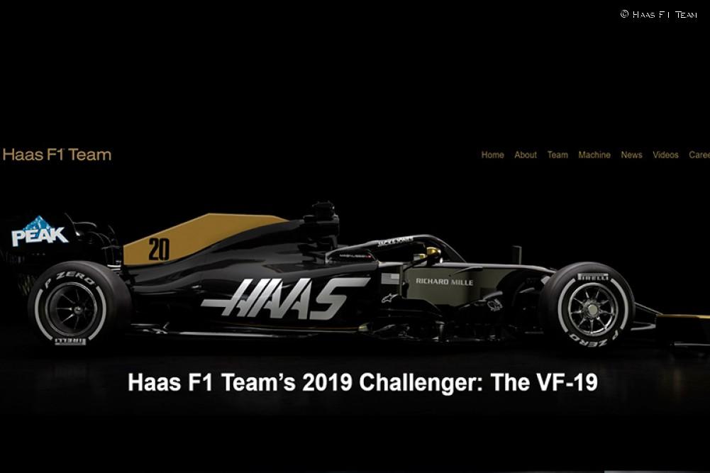 El diseño de Haas para 2019   Mundo D