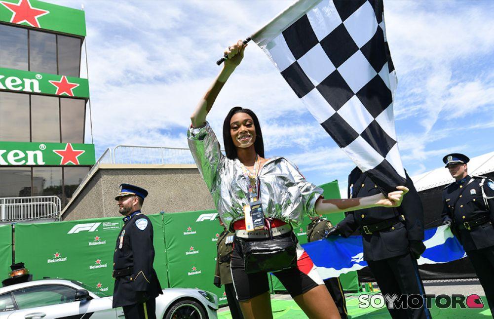 Fórmula 1: ¿Qué pasó al bajar la bandera a cuadros?