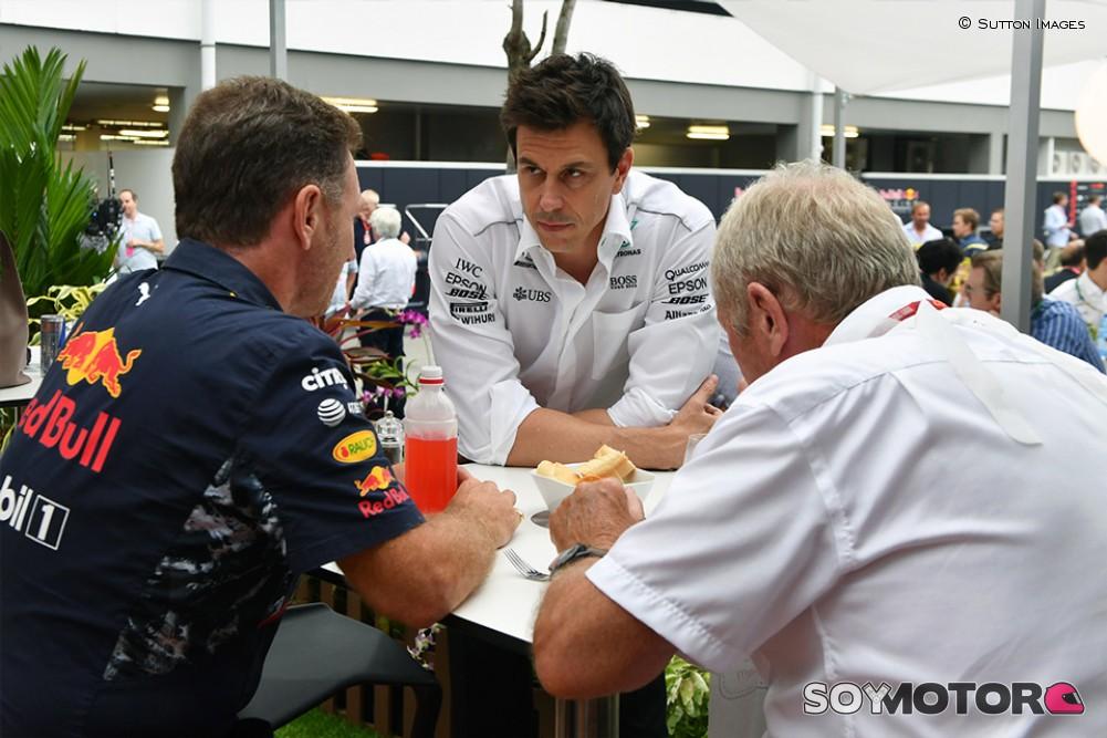 Mercedes descarta proveer motores para Red Bull en Fórmula 1