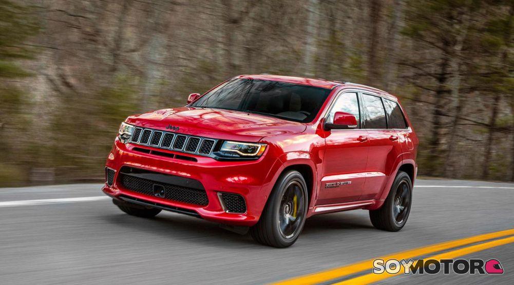 Gran Cherokee 2018 >> Jeep Grand Cherokee Trackhawk 2018: 73.200 euros de pura potencia | SoyMotor.com