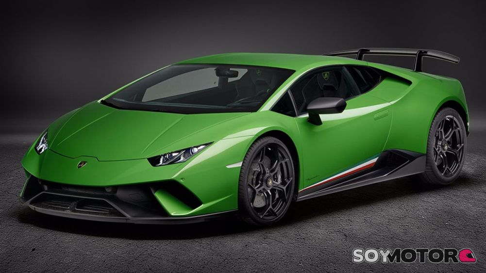 lamborghini hurac n performante 2018 as funciona su. Black Bedroom Furniture Sets. Home Design Ideas