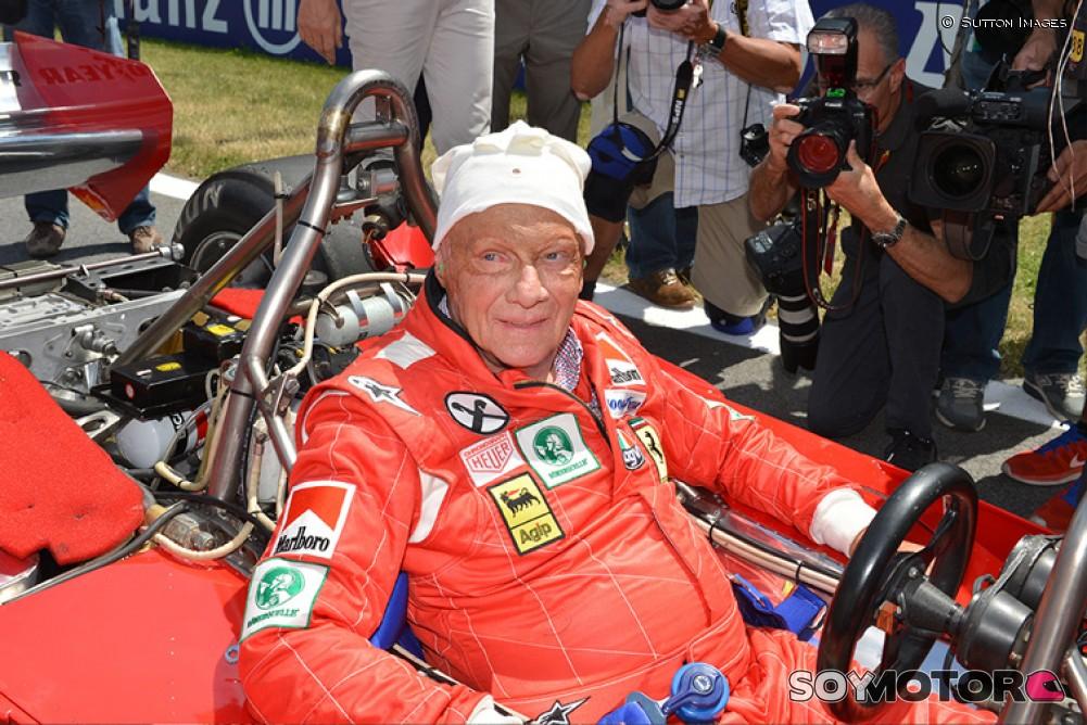 Despiden a Niki Lauda