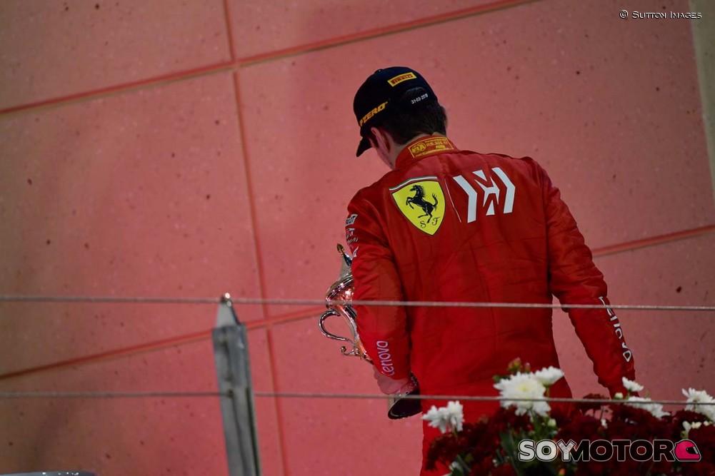 Ferrari reveló cuál fue el problema en el motor de Leclerc