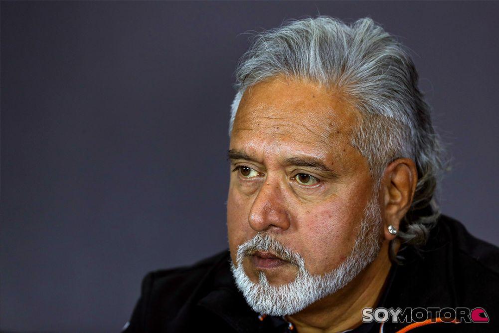 Vijay Mallya abandona la dirección de Force India