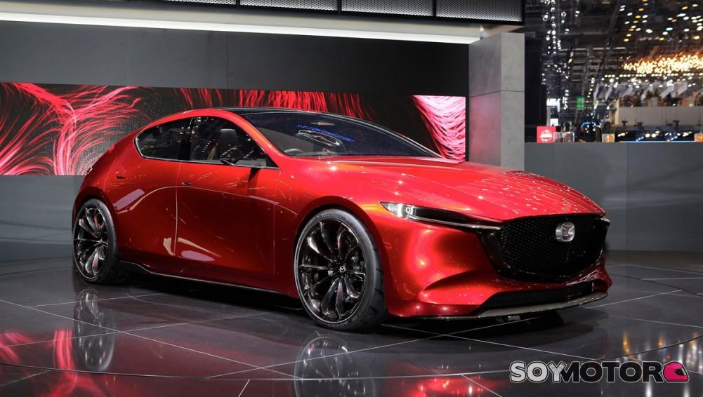 Nuevo Mazda 6 2018 >> Mazda Kai Concept: adelanto del futuro Mazda 3 en Ginebra | SoyMotor.com