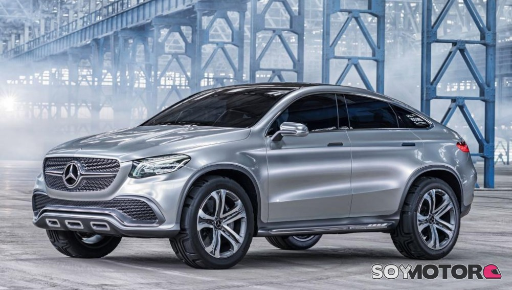 mercedes gla coup un rival para el bmw x2. Black Bedroom Furniture Sets. Home Design Ideas