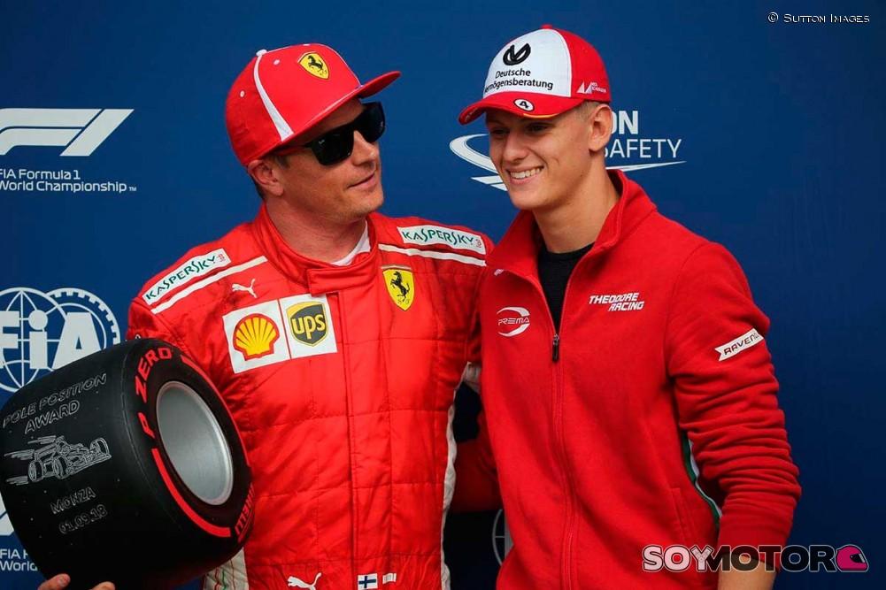 Ferrari fichó al hijo de Michael Schumacher