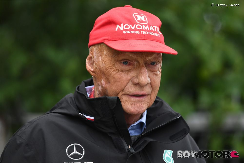 Niki Lauda en Shanghái