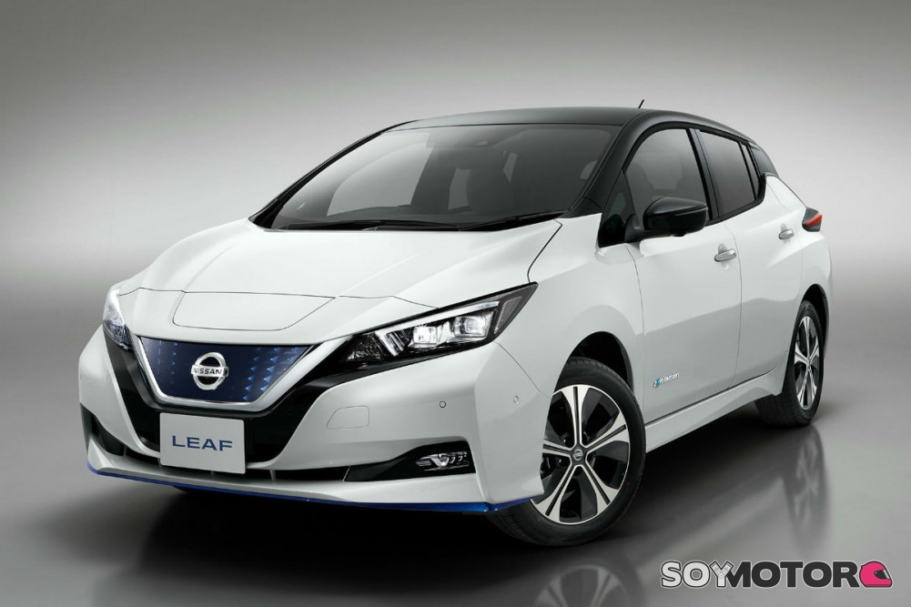 Nissan leaf 2020 interior