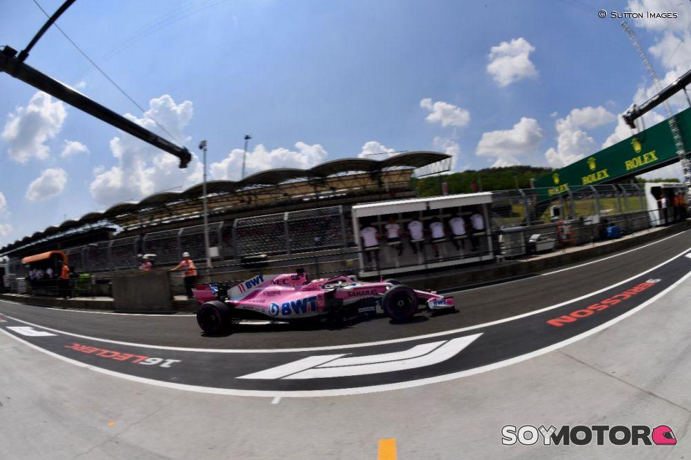 Habla ''Checo'' de su culpa en caída de Force India