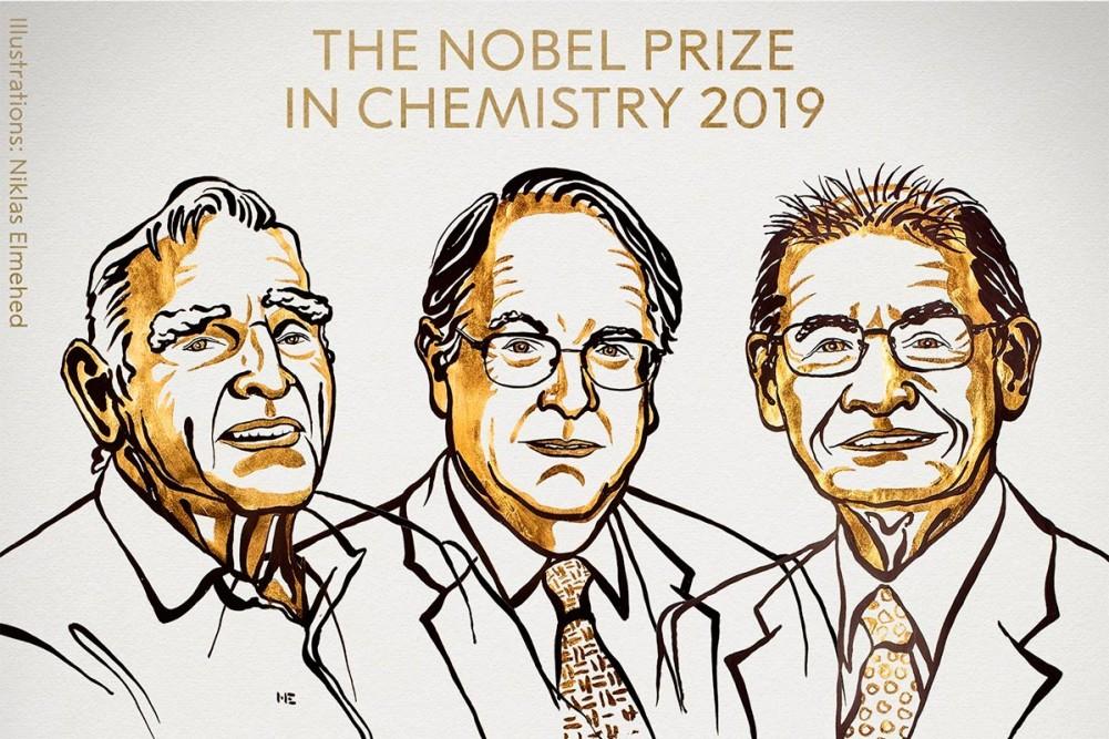 Nobel de Química para los padres de las baterías de ion-litio