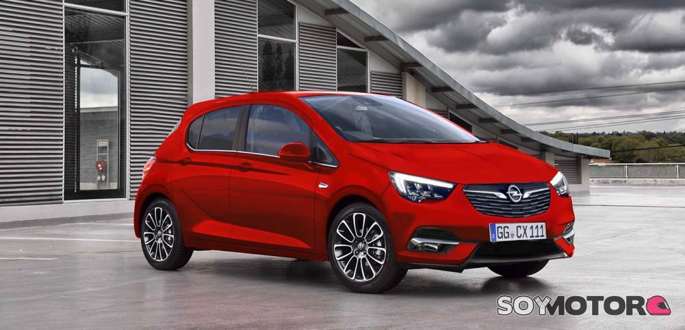 El Nuevo Opel Corsa Llegar 225 En 2019 Soymotor Com