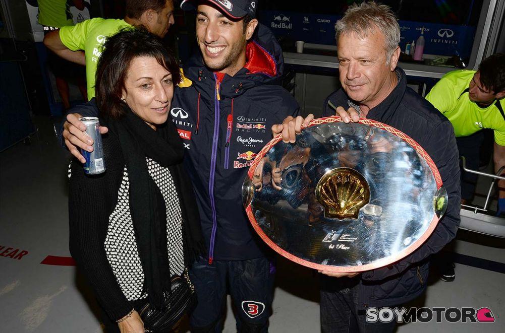 Daniel Ricciardo Joe Ricciardo